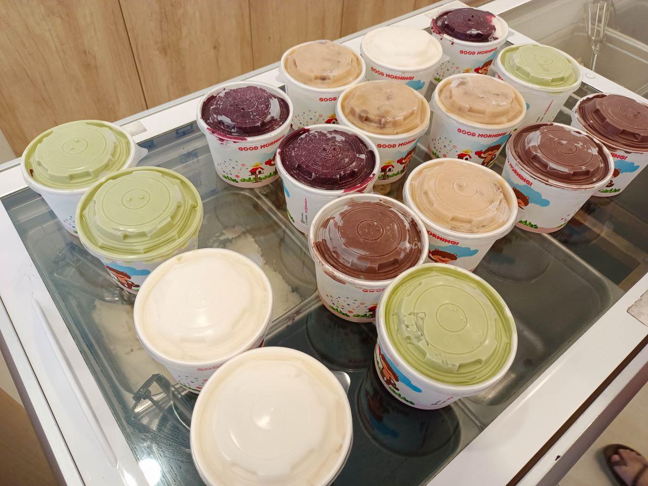 (桃園平鎮美食)吉旺綿綿冰一大杯手工冰品6大球只賣你45元(最多可選6種口味),老闆一年只營業幾個月時間很隨興 @Nancy將的生活筆計本