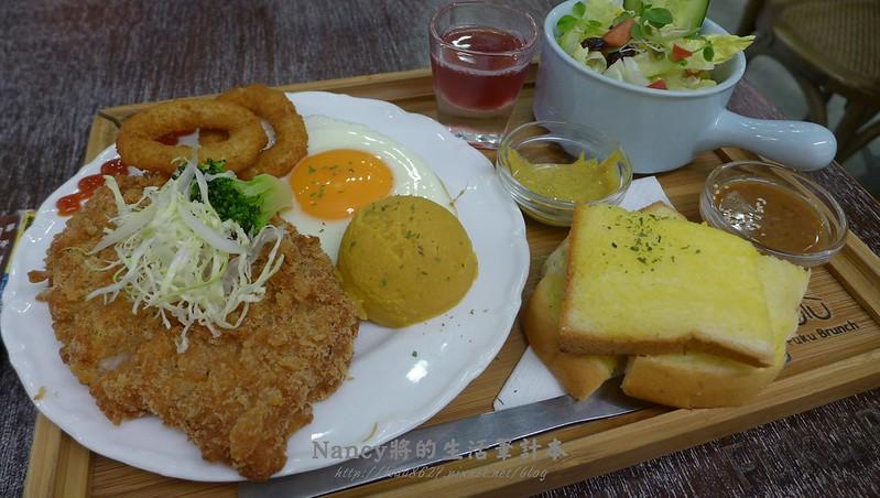 (江子翠捷運站)甜福Fuku Brunch,另一種風格的早午餐讓人置身在韓風 @Nancy將的生活筆計本