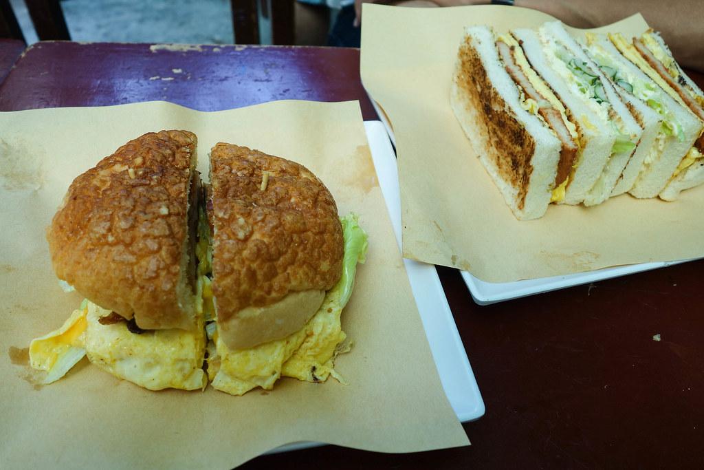 (中正紀念堂站)高三孝碳烤土司,南門市場後碳烤土司,波蘿堡~ @Nancy將的生活筆計本