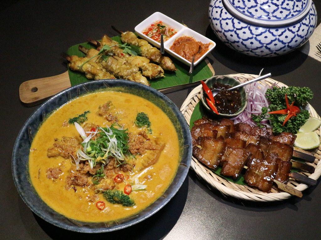 (忠孝復興站)Thai Bazaar 泰集泰式料理大安店,東區聚餐約會,新菜色推出,台北東區泰國料理,近SOGO @Nancy將的生活筆計本