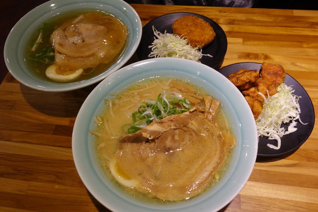 (忠孝復興站)來自北海道口味的千歲軒拉麵/16公分寬的大片叉燒 @Nancy將的生活筆計本