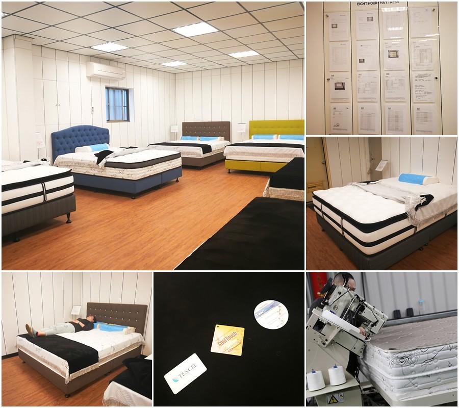 (生活/居家/寢具)八鐘頭睡眠名床,工廠直營,製作過程讓您看得見,新北客製化床墊,近新北五股工業區 @Nancy將的生活筆計本
