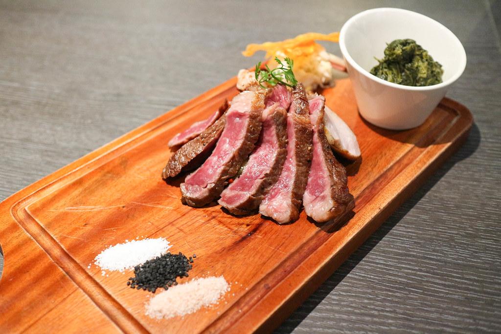 (忠孝敦化站)紅點熟成肉餐廳 osteria rossa,日義混血熟成肉專門餐廳,東區約會餐廳 @Nancy將的生活筆計本