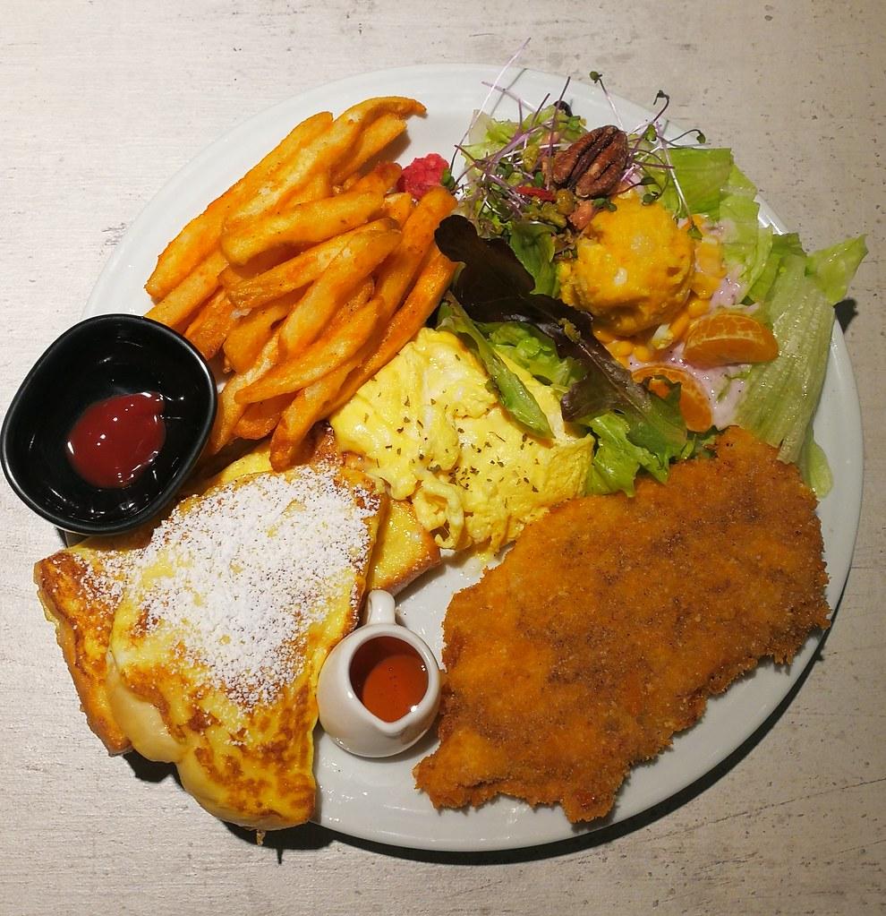 (新埔捷運站)板橋早午餐-好旺早午餐,不限時早午餐,寵物友善餐廳 @Nancy將的生活筆計本
