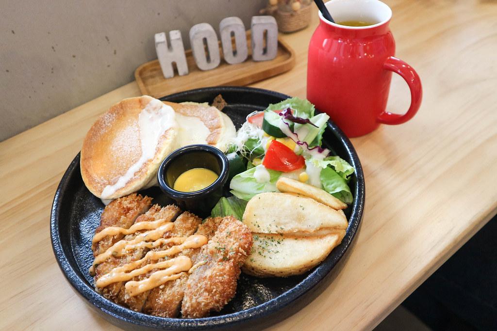 (中和區美食)中和早午餐-貳hood.cafe',乾燥花風格IG打卡,舒芙蕾鬆餅好吃,近中和環球 @Nancy將的生活筆計本