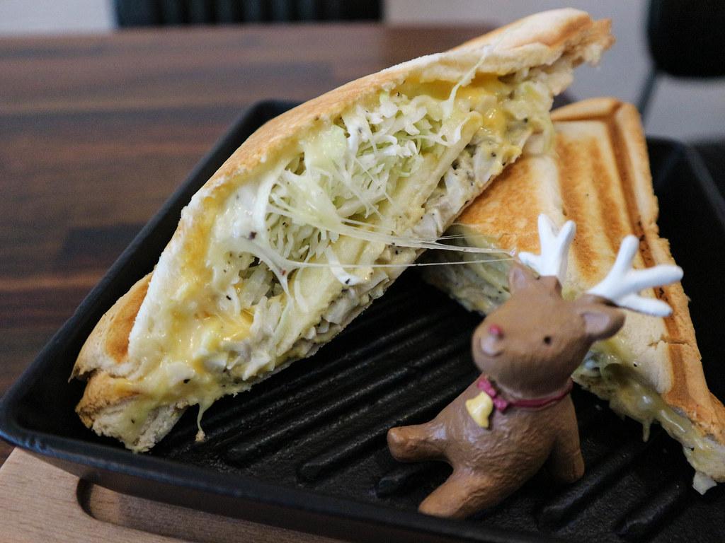 (南京三民站)台北早午餐-1/2 CAFÉ松山區不限時咖啡/早午餐/外帶 @Nancy將的生活筆計本