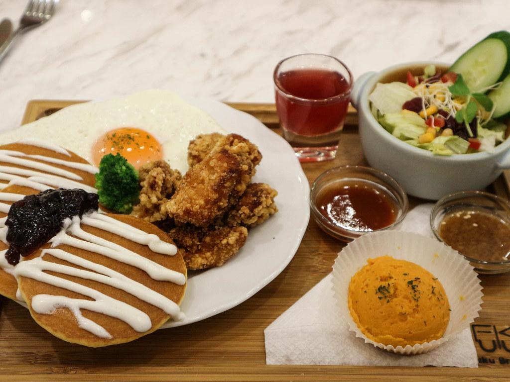 (板橋車站) 新北板橋早午餐-甜福。貳 Fuku Brunc/韓風早午餐開了二店/人氣早午餐.咖啡.輕食(營業時間/全菜單) @Nancy將的生活筆計本
