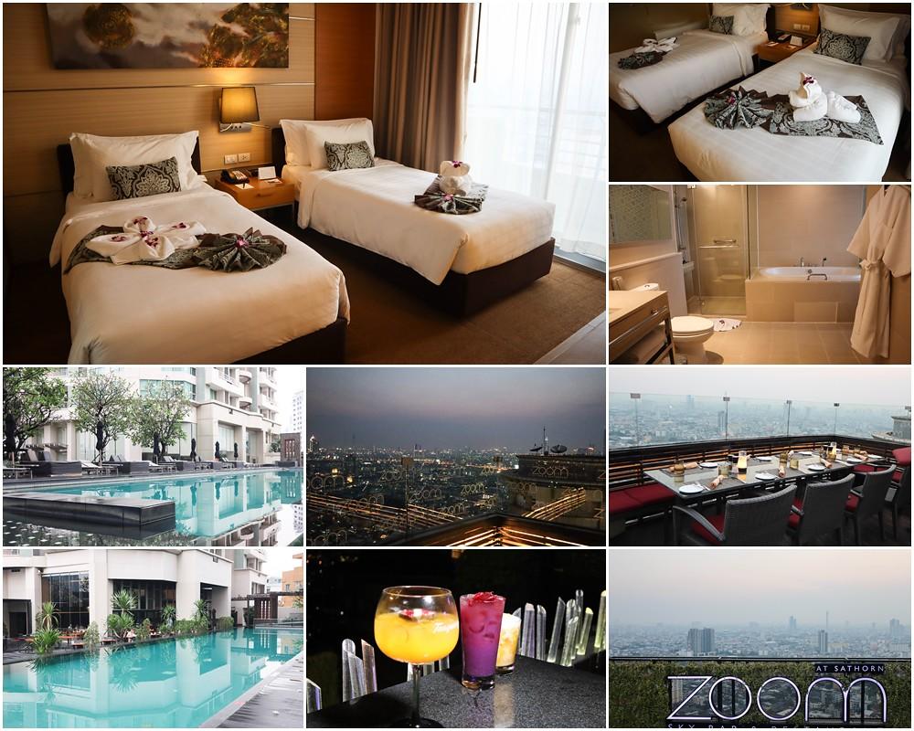 (泰國曼谷遊)泰國曼谷推薦住宿-曼谷沙通安納塔拉酒店 (Anantara Sathorn Bangkok Hotel)(BTS的 CHONGNONSI站)CP值很高住宿推薦,頂樓高空酒吧(Zoom Sky Bar & Restaurant) @Nancy將的生活筆計本