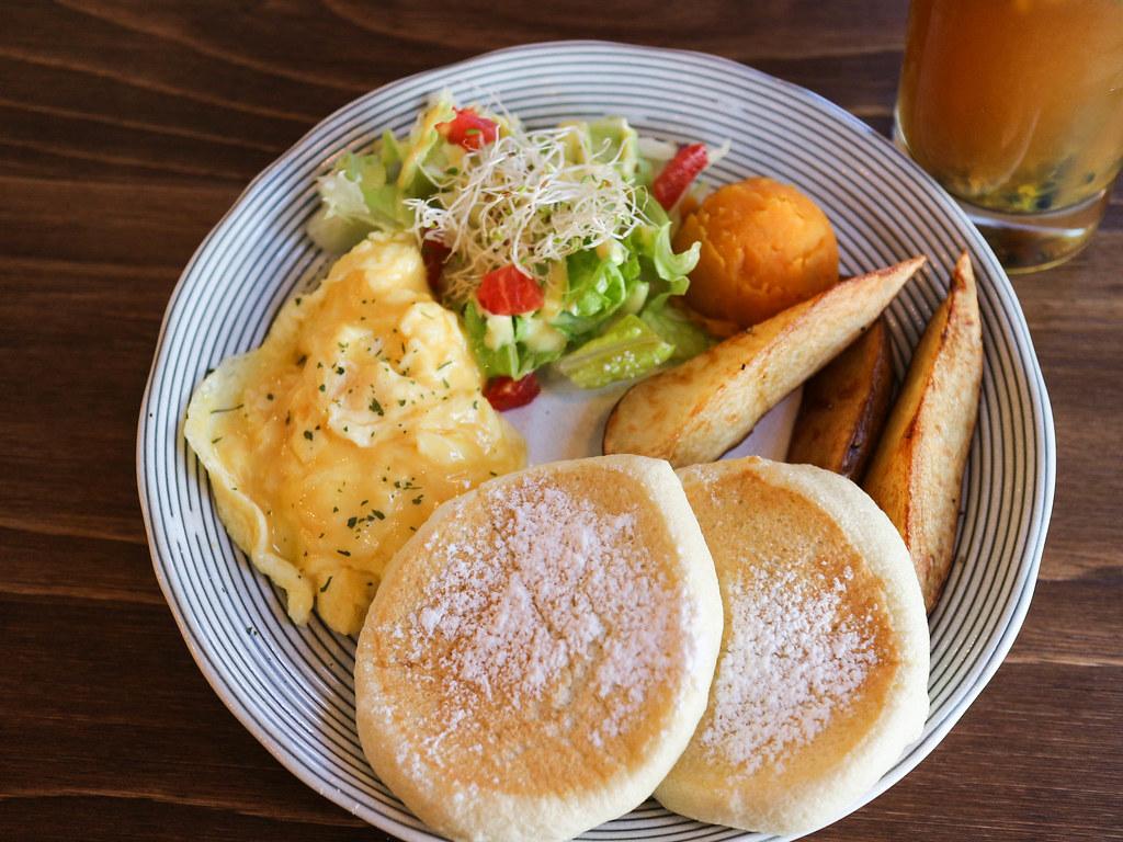 (新埔捷運站)板橋早午餐MATTER CAFE/全天候早午餐/舒芙蕾鬆餅 @Nancy將的生活筆計本
