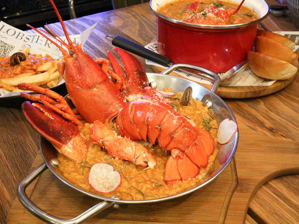 (南京復興站)龍波斯特 lobster.foods-南京龍江創始店,大口享受龍蝦全餐,中山區聚餐,約會,近捷運站 @Nancy將的生活筆計本