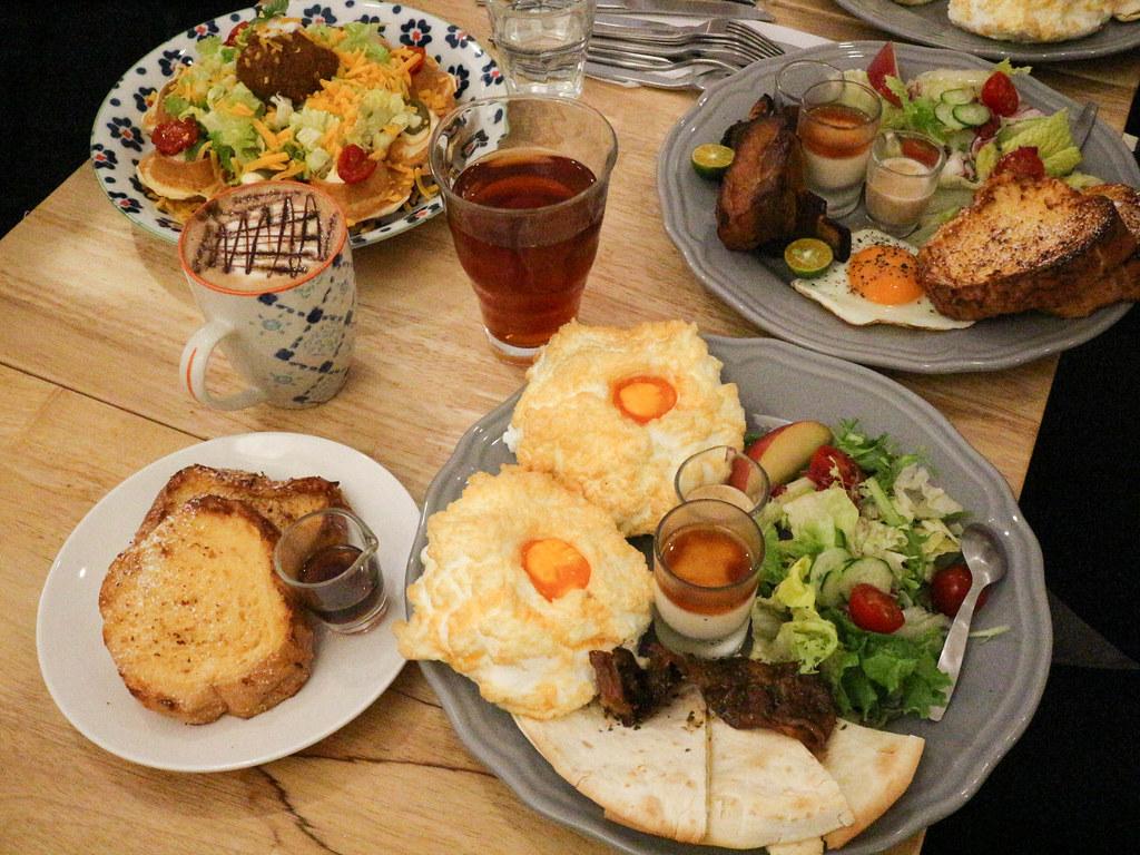 (中山捷運站)台北早午餐-URBAN SELECT 城嚴選,皇后的早餐視覺效果佳,軟乎乎的雲朵蛋,生活雜貨咖啡輕食 @Nancy將的生活筆計本