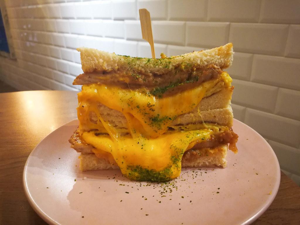 (板橋車站)新北早午餐/板橋早午餐-榛甜,近致裡科大,CP值高的美味早午餐,滿滿的芋泥內餡芋頭控快過來 @Nancy將的生活筆計本