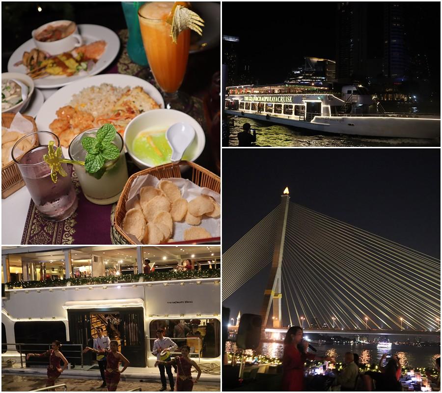 (泰國曼谷遊)chaophraya cruise 昭披耶遊輪,自助BUFFET晚餐國際料理吃到飽,在遊輪上渡過個浪漫的夜晚-BTS(SAPHAN TAKSIN站) @Nancy將的生活筆計本