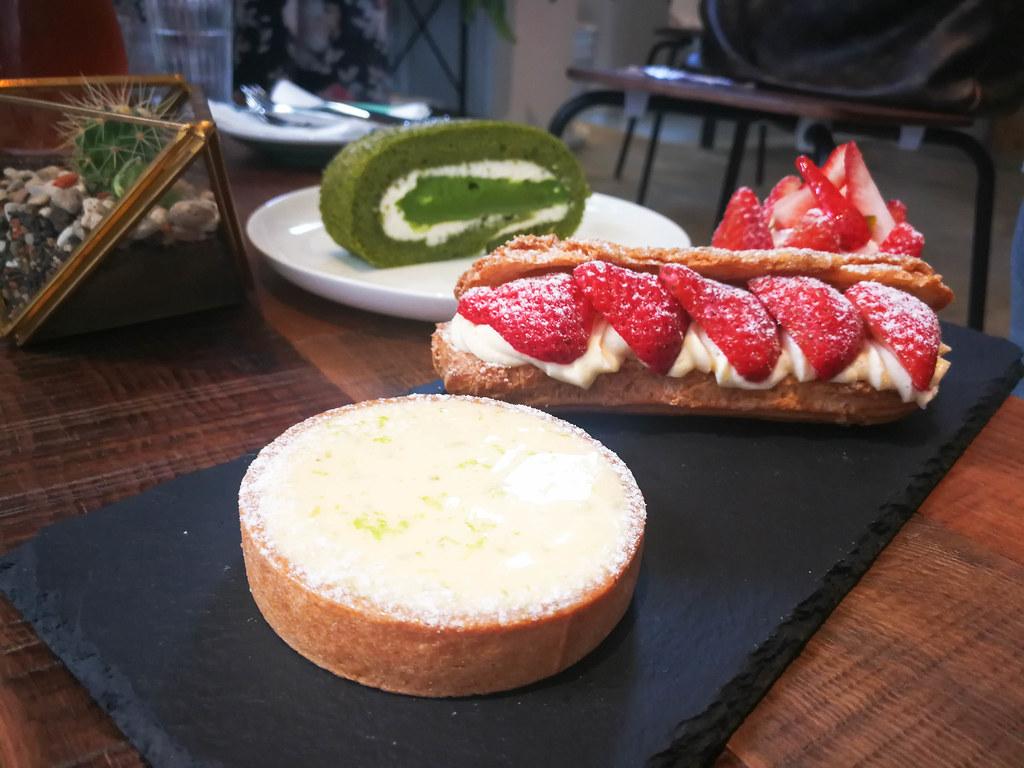 (中壢甜點)綠沐恬拾 café & pâtisserie,巷弄內的美味手作甜點,聚餐,約會 @Nancy將的生活筆計本