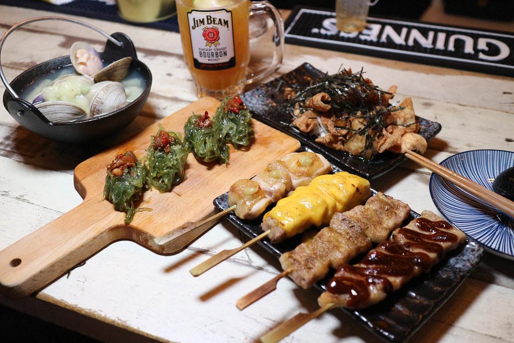 (西門捷運站)東京串燒。酒場,IG風格串燒居酒屋,西門串燒店,高CP值居酒屋,全臺唯一的日式串燒餐酒館 @Nancy將的生活筆計本
