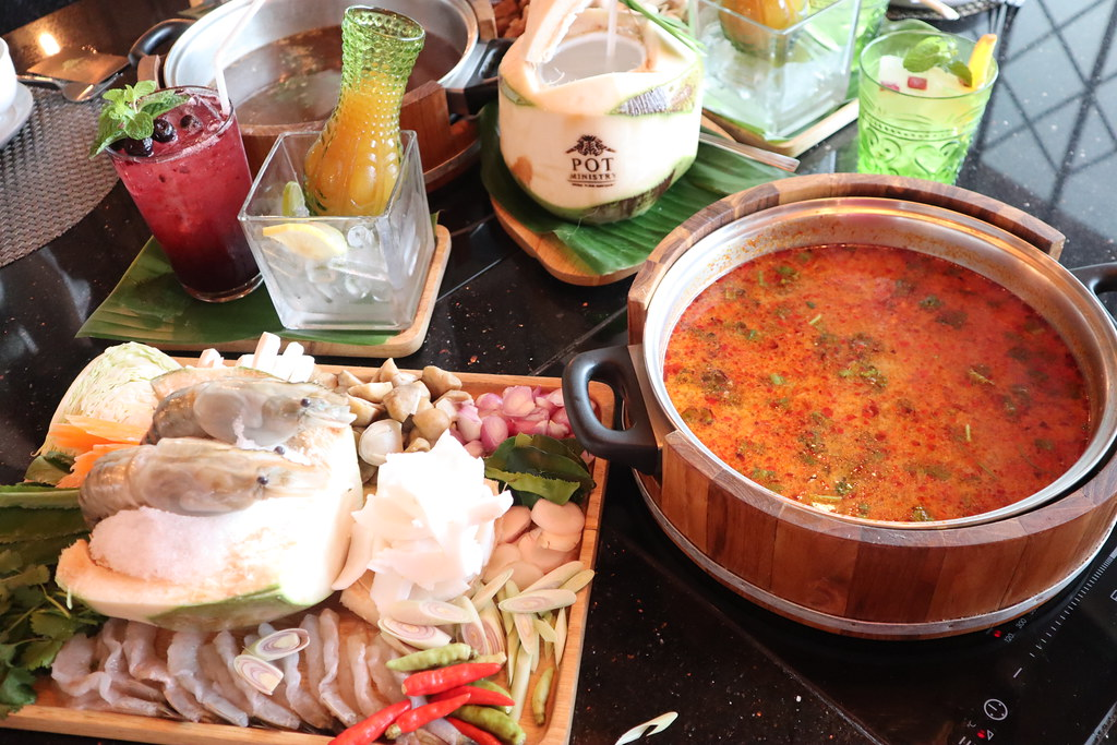 (泰國曼谷遊)曼谷美食Pot Ministry頂級泰式火鍋專賣店,一店吃遍4大泰國菜系The EmQuartier 8樓(BTS-Phrom Phong站) @Nancy將的生活筆計本