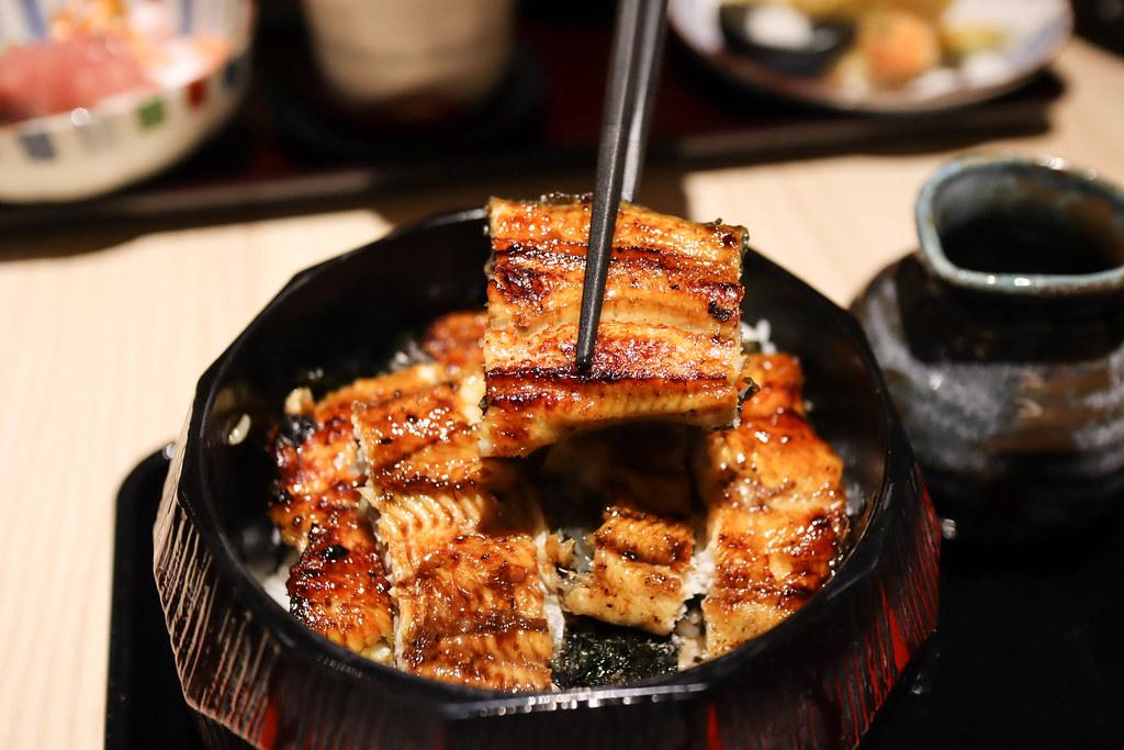 (中山站)近鐵餐飲 鰻 江戶川鰻魚料理(台北中山店),海外第一家分店就在台灣台北,來自京都60年的老店 @Nancy將的生活筆計本