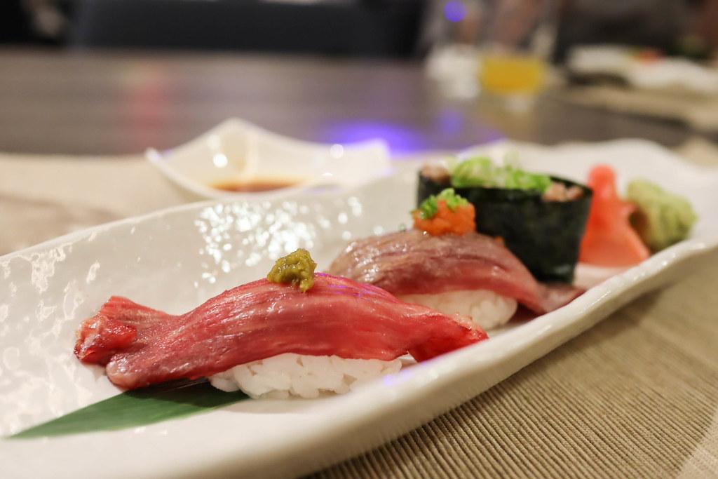 (忠孝新生站)天幕·Tenmaku Taipei日本酒餐酒館,飛驒牛割烹,預約制,套餐制 @Nancy將的生活筆計本