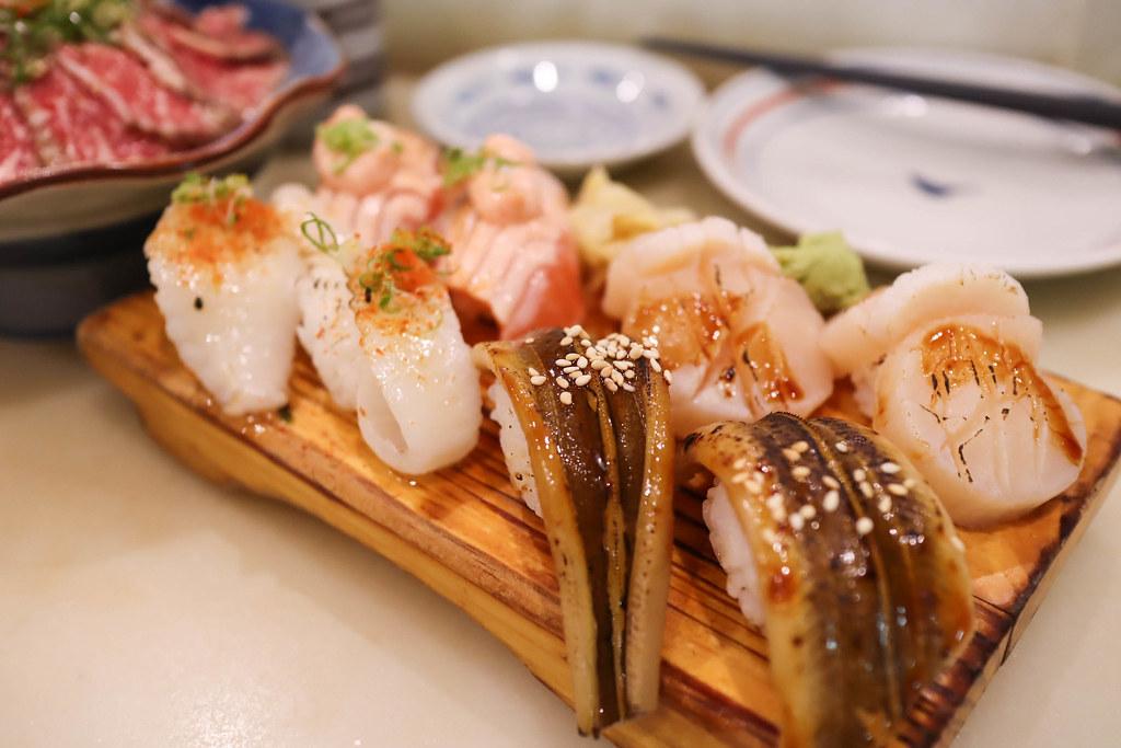 (中和區美食)中和日本料理-二男(小家料理)握壽司表現比丼飯佳,請務必提早預約免得排隊久等,中和排隊名店 @Nancy將的生活筆計本