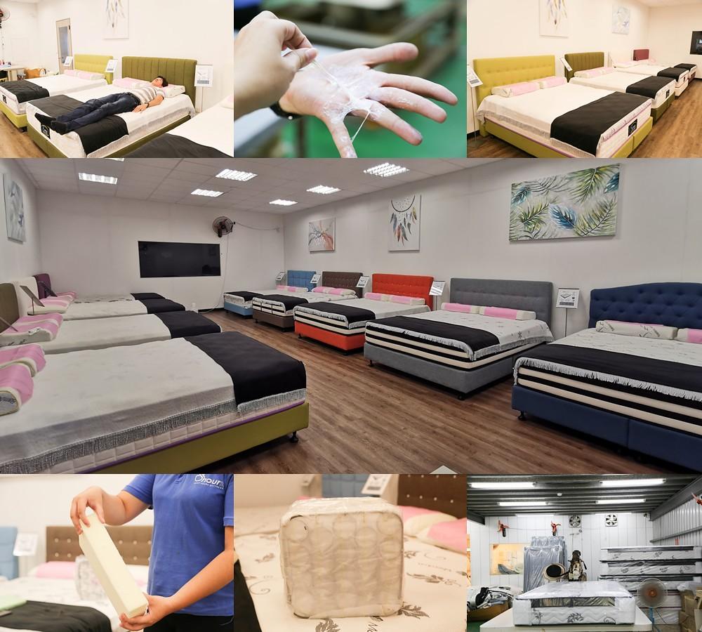 (生活/居家/寢具)新北床墊推薦-八鐘頭睡眠名床8hourz(泰山工廠),客製化床墊,公開化製作過程讓你通通看得見,提供五大保證購買起來更安心 @Nancy將的生活筆計本