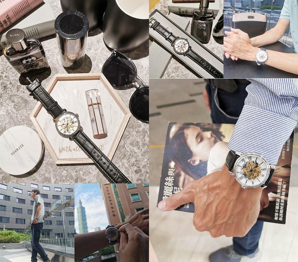 (穿搭/手錶)來自香港的設計師品牌-擁有30年精緻工藝-LOBOR大都會系列手錶,石英錶,簍空機械錶 @Nancy將的生活筆計本