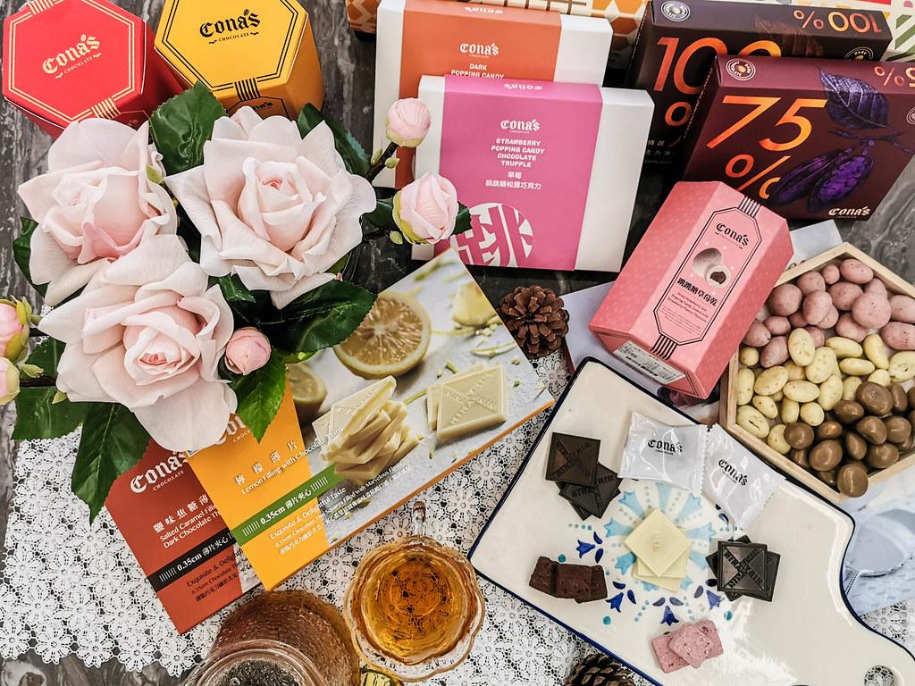 (團購美食)來自台灣南投超夯的伴手禮-Cona's 妮娜巧克力,榮獲多項世界級巧克力大賽大獎 @Nancy將的生活筆計本