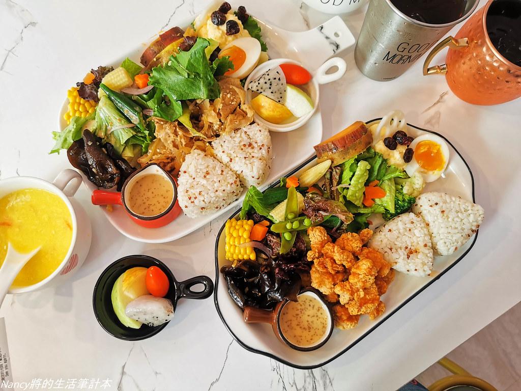 (萬華早午餐)起床 Wake Up早午餐超豐富高CP值優質早午餐,店內裝潢超好拍,鄰近和平醫院,台北植物園,小南門捷運站 @Nancy將的生活筆計本