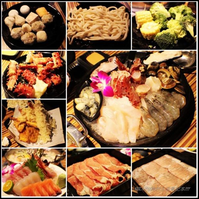 澄日式精緻料理帝王蟹鍋物,吃帝王蟹到爆血管我也願意~ @Nancy將的生活筆計本