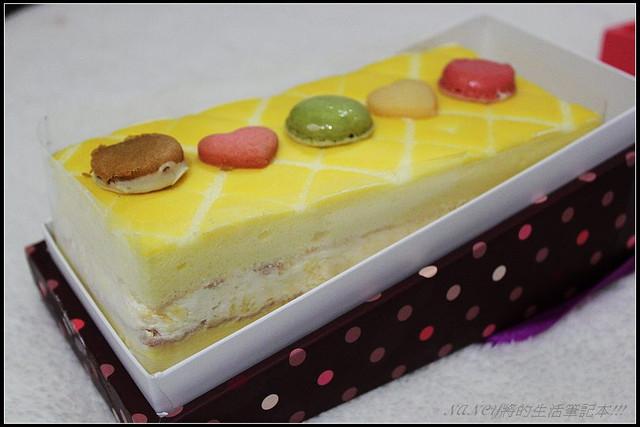 (試吃)金格彌月:法式格菱紋蛋糕,淡淡檸檬香真爽口 @Nancy將的生活筆計本