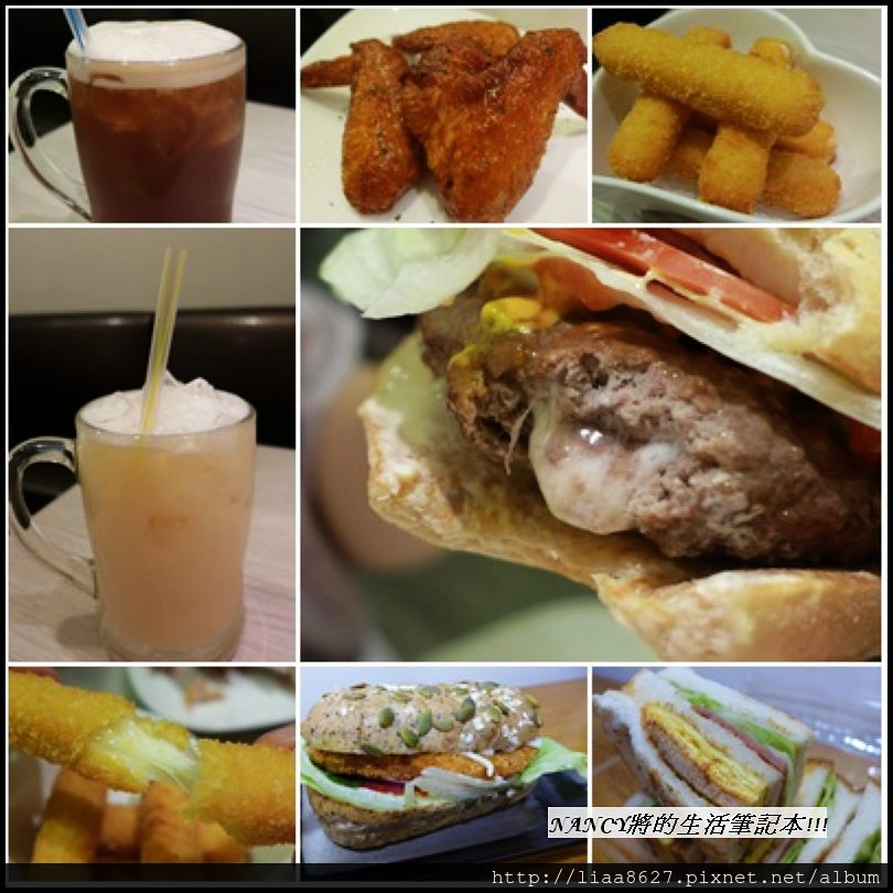 (試吃)肥蒂漢堡,一份套餐只要百來元in南西商圈(中山站美食) @Nancy將的生活筆計本