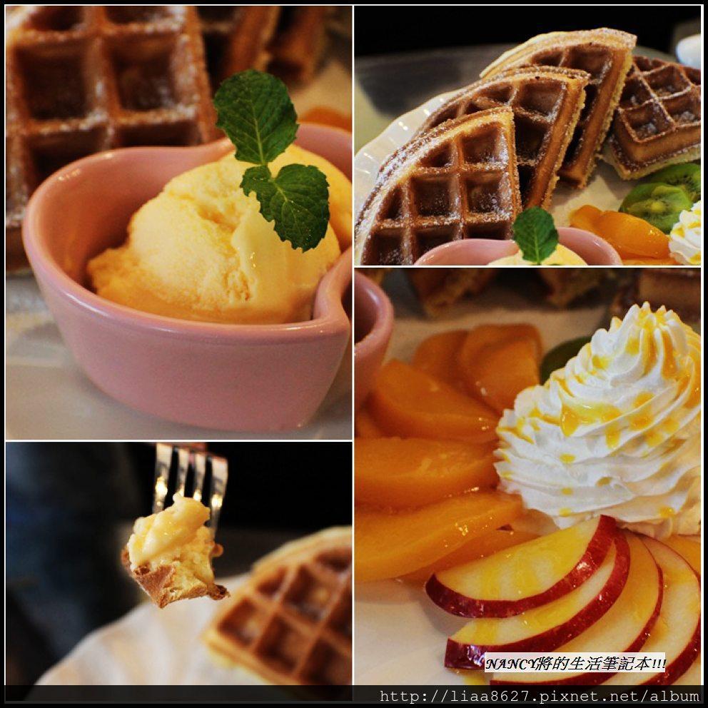 (口碑卷)第137發,Queen Coffee有好吃的水果冰淇淋鬆餅跟正妹老闆娘~ @Nancy將的生活筆計本