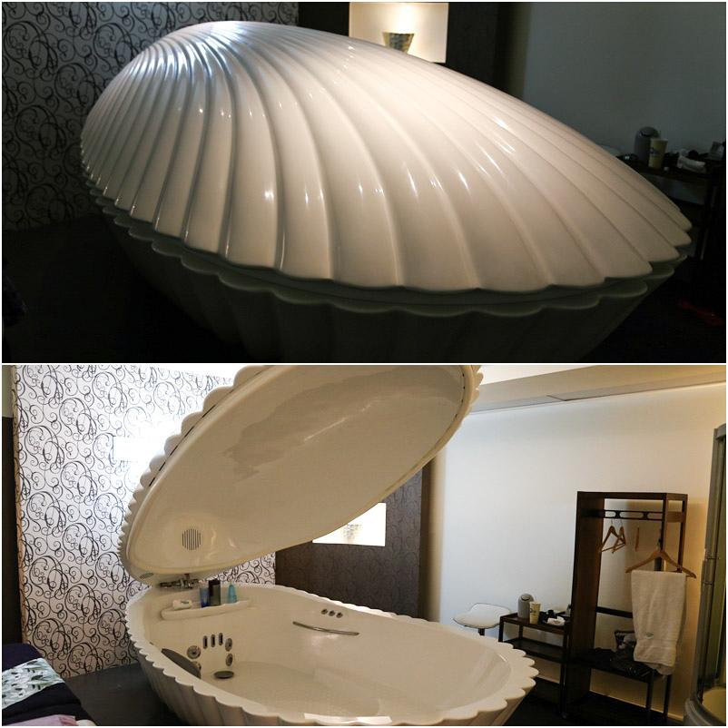 (台中)浮力空間貝殼機初體驗,你今天漂浮了嗎?想不到我也有可以浮起來的一天~ @Nancy將的生活筆計本